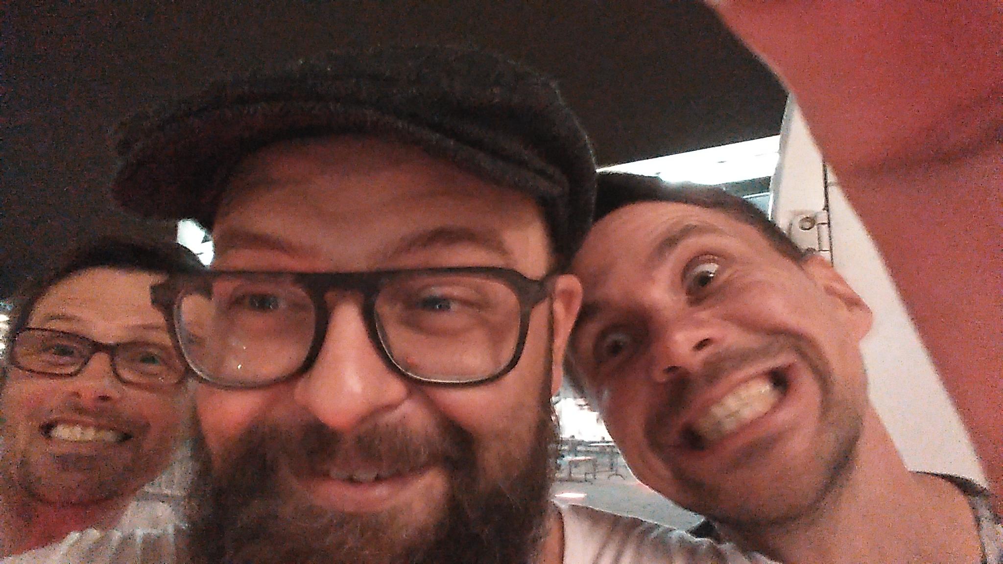 Dawid Korbaczyński zrobił sobie selfie moim telefonem.