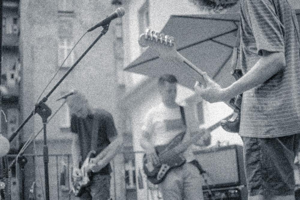 Od lewej: Maciej Baczak, Darek Mach, Konrad Nikiel. fot. Aleksandra Kardasińska